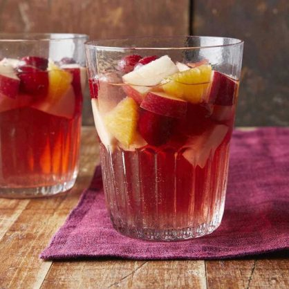 Cranberry sangria. Picture: Supplied