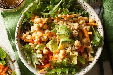 Recipe: Quinoa, avocado & chickpea salad
