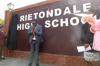 Rietondale High School vandalised following name change
