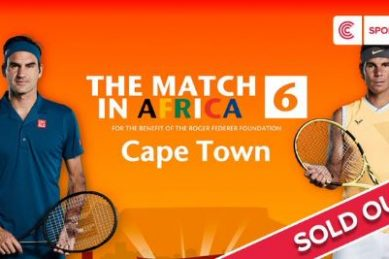 Federer and Nadal's Cape Town match sold out in 10 minutes … and SA is fuming
