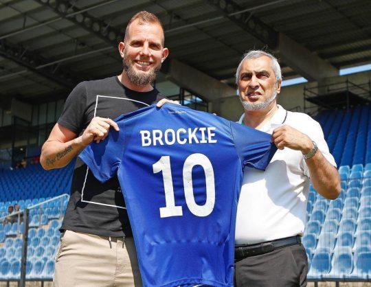 Jeremy Brockie has joined Maritzburg United (Pic Maritzburg)