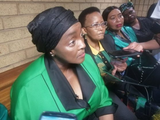 Chemical castration is being discussed, says Bathabile Dlamini at Ninow trial