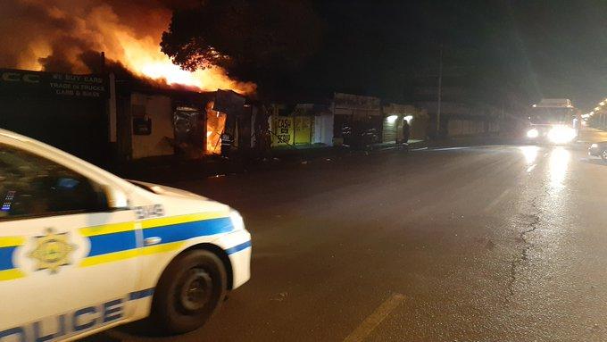 Ramaphosa speaks after ATM says violence 'engineered'