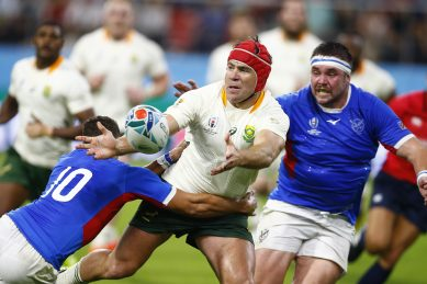 Brits not over: His 'vital' Rugby World Cup role at 38