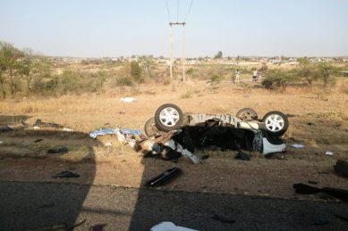 11 die in Limpopo cash-in-transit vehicle, seven-seater car crash
