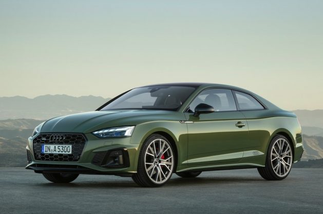 Facelift Audi A5 unveiled alongside V6 TDI powered S5