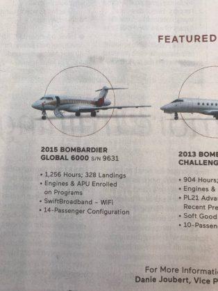 Gupta family jet up for sale