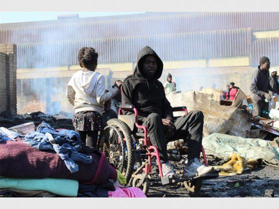 Marabastad residents destitute after fire guts homes