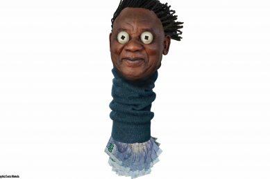 Is Ramaphosa just a sock puppet stuffed full of cash?