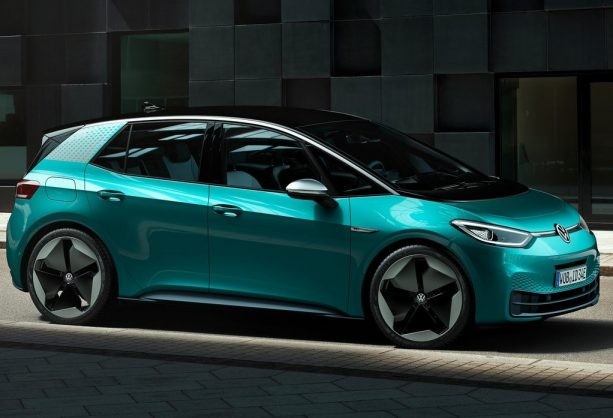 Volkswagen's all-electric 'Golf of the future' silently debuts