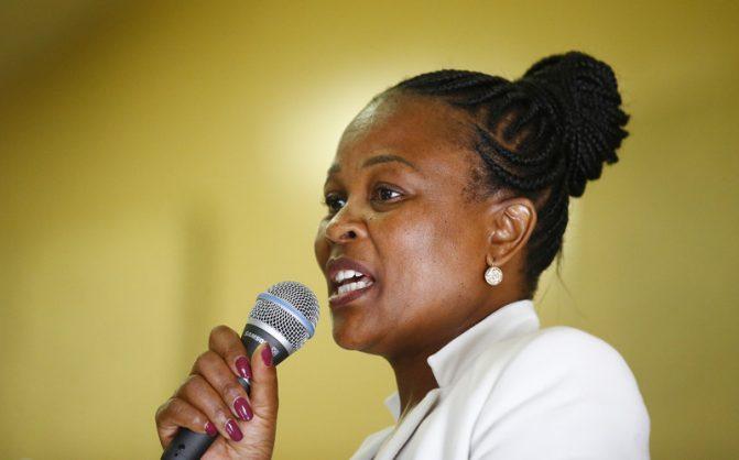 Speaker to consider DA request to remove Mkhwebane in January