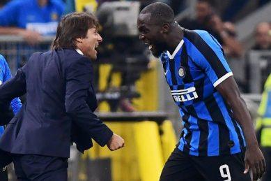 'Gentle giant' Lukaku thriving at Inter Milan after Man United flop