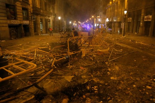 Nearly 200 injured in police clashes with Catalan separatists