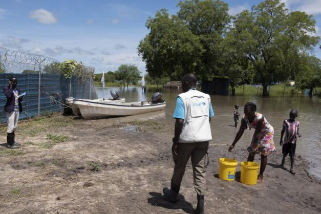 Almost one million people affected by floods in South Sudan – UN