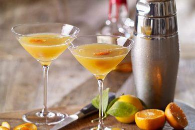 Recipe: Tangerine bourbon sidecar