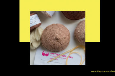 The Great Equalizer Podcast – I'm a person too! with Knitted Knockers SA founder Dana Biddle