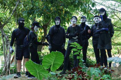 Hong Kong protesters embrace 'V for Vendetta' Guy Fawkes masks