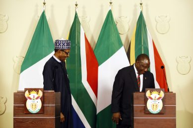 'SA is committed to ideals of African unity,' Ramaphosa tells Buhari