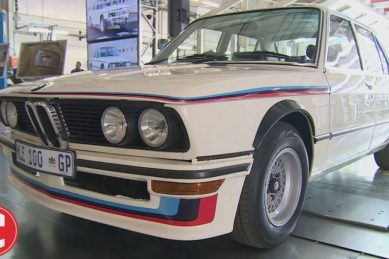 WATCH: The legendary BMW 530 MLE lives on