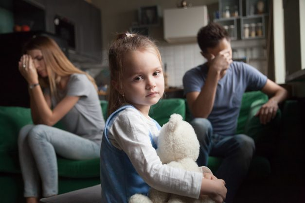 Divorced parents may not be able to see kids for 21 days