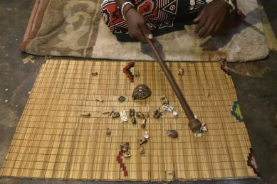 Traditional healer's bones predicts 2021 another tough year for SA