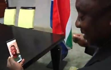 WATCH: 'Book my ticket', I am coming to lift that trophy with you, Ramaphosa tells Kolisi