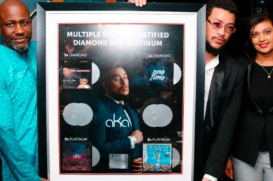 AKA becomes first SA hip hop artist to score Diamond certification
