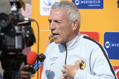 Middendorp's got something up his sleeves for Chiefs