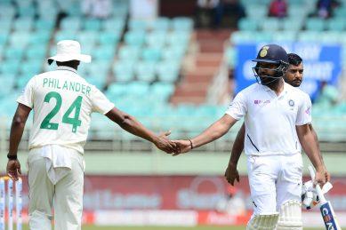 Sharma, Agarwal pummel Proteas with record stand before Ashwin strikes