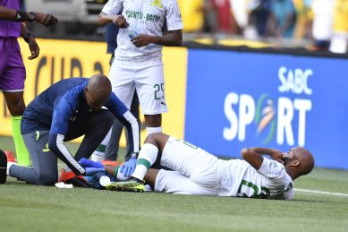 Sundowns star's career in the balance