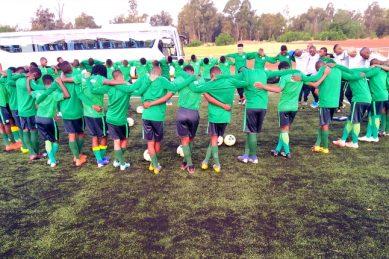 Amajimbos edge closer to Cosafa final