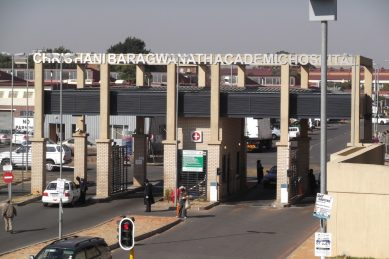 Baragwanath Hospital patient commits suicide in disabled bathroom