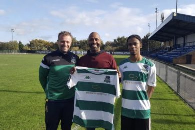 Lucas Radebe's son joins English club