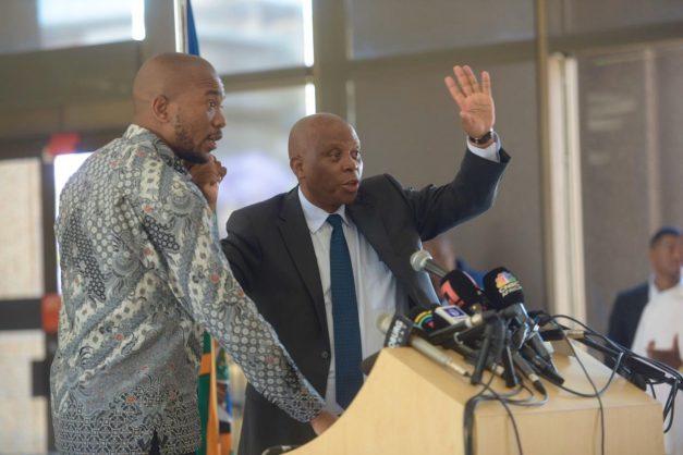 DA FedEx to meet urgently 'to assess the impact' of Herman Mashaba's resignation