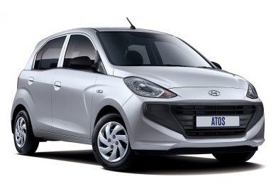 Returning Hyundai Atos discreetly stickered