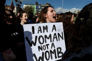 The church has no right to regulate women's bodies