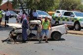 Horror crash brings Krugersdorp traffic to a standstill - Citizen