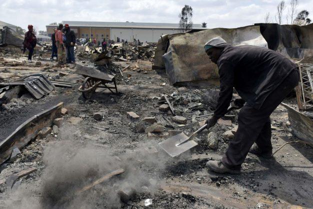 Gauteng govt vows to help those affected by Kempton Park mass shack fire