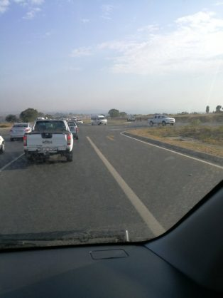 Malibongwe Drive protest action flares up again