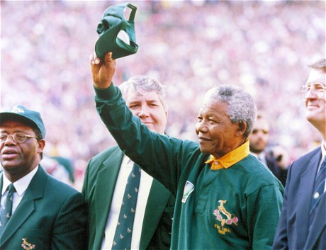 Rugby World Cup final sparks nostalgia for another Mandela moment