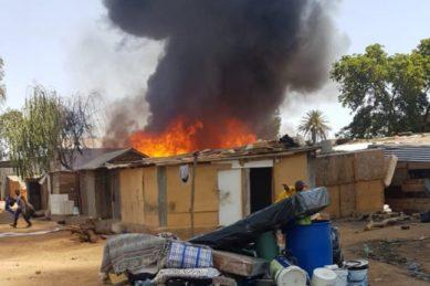Fire breaks out in small informal settlement in Kempton Park