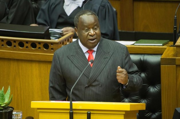 Mboweni says 'legalize it!' as he dares cops to arrest him for growing dagga
