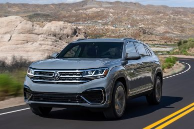 Volkswagen enters coupe crossover brawl with Atlas Cross Sport
