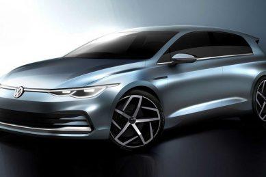 Volkswagen continues Golf 8 tease despite multiple leaks