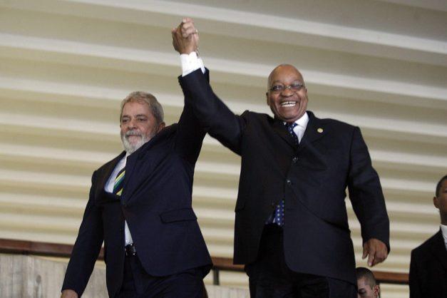 Zuma tells jailed Lula da Silva 'the mighty truth will prevail'