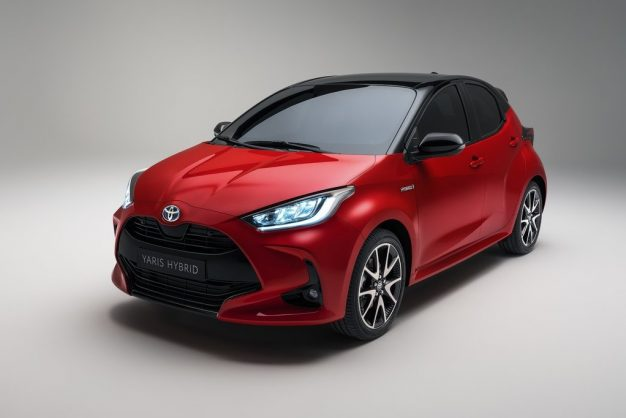 Toyota Yaris puts on a bold new suit
