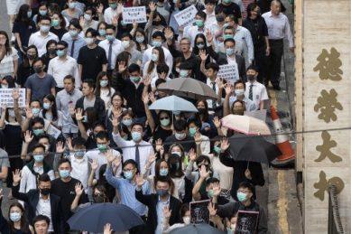 Schools closed as protests put chokehold on Hong Kong