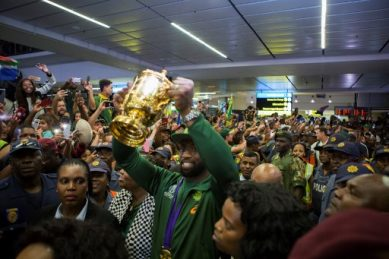 Soweto to welcome World Cup winning Springboks, a team they once 'hated'