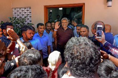 Gotabaya Rajapaksa elected Sri Lankan president