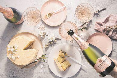 Recipe: Bliss Nectar Rosé cake